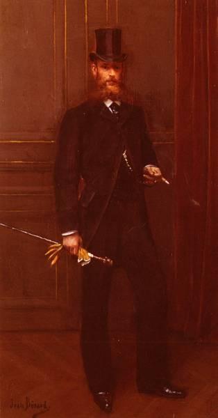 Portrait D Un Homme Elegant